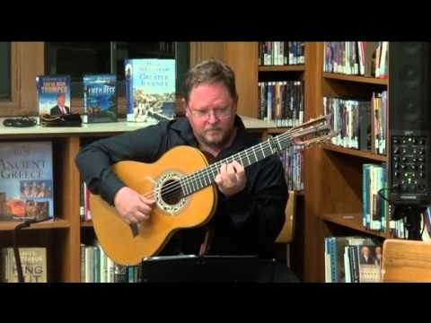 Greg Shirer playing Campiña Andaluza (Alegrías de Sabicas) at the Del Mar Library Oct. 29, 2015. Visit http://PepeRomeroMethod.com