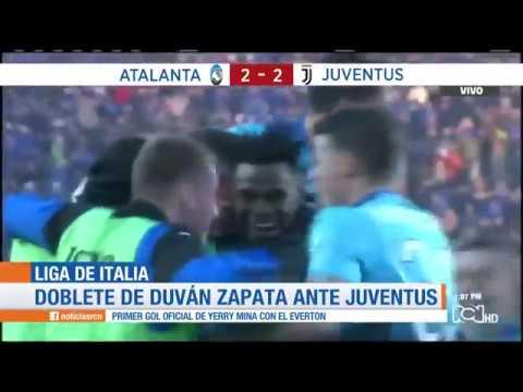 Duvan Zapata vs Juventus: doblete del colombiano con Atalanta en Serie A
