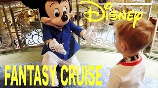 Boarding The Disney Fantasy Cruise!  Part 1 Disney Cruise Vacation