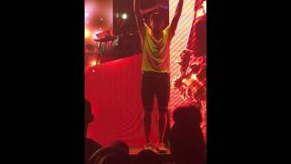 Chris Brown & August Alsina I love this Shit. One Hell of a Nite tour Atlanta. Row 6 view!