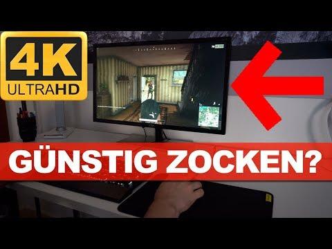 Taugt ein günstiger 4K Gaming Monitor? - AOC 28 Zoll im Test