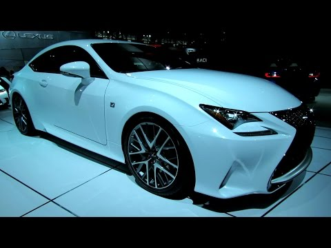 2015 Lexus RC350 - Exterior Walkaround - 2014 New York Auto Show