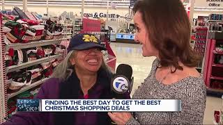 Finding the best day to get the best Christmas shopping deals