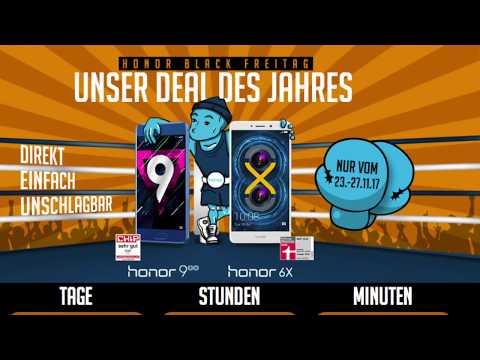 Honor 9 und Honor 6X zum Black Friday günstiger - Werbung
