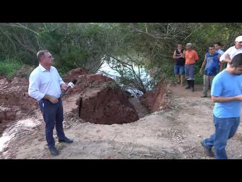Rede Globo na Represa do Calazan em Juquitiba