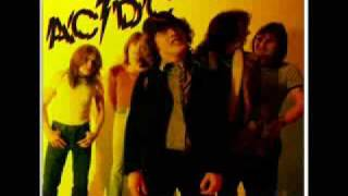 AC/DC- Gone Shootin With Bon Scott