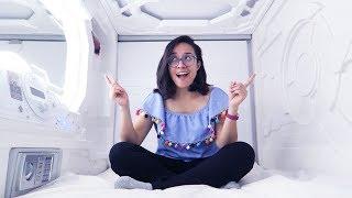 DORMÍ EN UNA CÁPSULA EN MÉXICO | Perdí Mi Vuelo ♥ Vlog Craftingeek