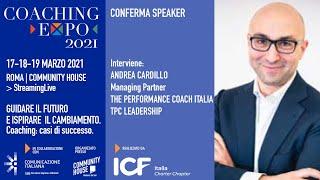 Youtube: Coaching Expo 2021 | Open Talk | IL COACHING ORGANIZZATIVO A SUPPORTO DEL CAMBIAMENTO
