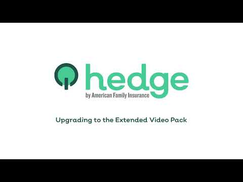 Extended Video Pack Upgrade | Hedge by AmFam®