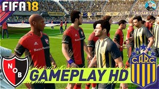 FIFA 18 Rosario Central Vs Newell's Old Boys