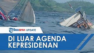 Soal Tenggelamnya Kapal Wartawan di Labuan Bajo, Pihak Istana: Terjadi di Luar Agenda Kepresidenan