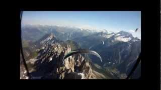 Pralognan la Vanoise Juin 2012 Parapente
