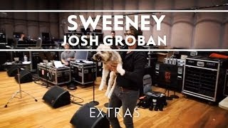 Josh Groban - Sweeney At Rehearsals (#5) [Straight To You Tour]