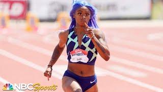 Sha'Carri Richardson powers to women's 100m win at 2021 USATF Golden Games | NBC Sports