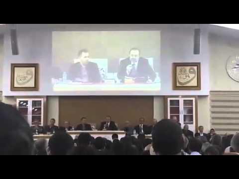 Diyanet İşleri Başkanı Prof. Dr. Mehmet Görmez Nazım Gökçek Külliyesinde Ders Yaptı