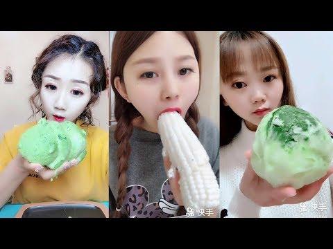 Sütlü Buz Yemek Videoları - #150 ASMR (Frozen Milk Eating)