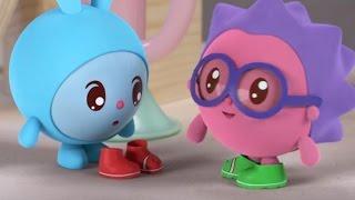 Малышарики - Развивающие мультики - Сапожки (53 серия)    Учим право и лево
