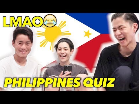 【YUYA VS SHUNYA】PHILIPPINES QUIZ COMPETITION!!!!!!!!