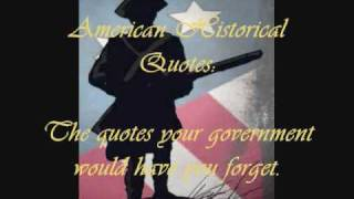 American Historical Quotes