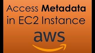 AWS EC2 metadata.