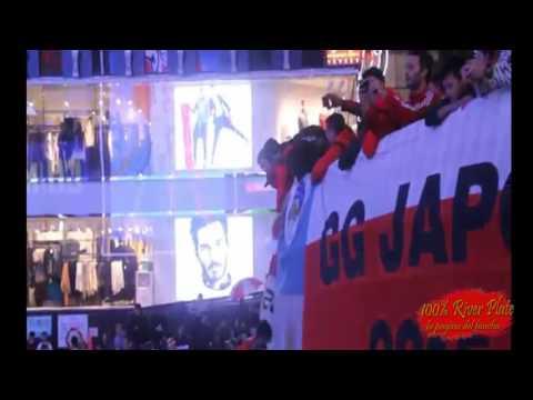 """""""¡HISTORICO! Banderazo De River En Japon"""" Barra: Los Borrachos del Tablón • Club: River Plate"""