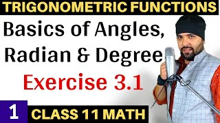 Exercise 3.1 Chapter 3 Trigonometry Functions Class 11 Maths