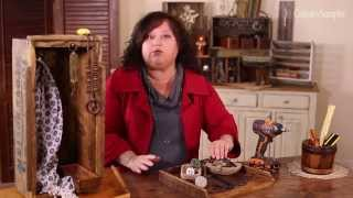How To Make A Rustic Jewelry Holder | A Country Sampler DIY Video