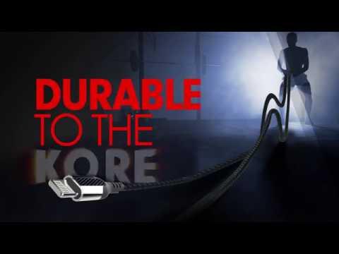 KOBRA Carbon Fiber Lightning Cable USB-A to Lightning 8