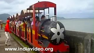 Train in Elephanta caves, Mumbai