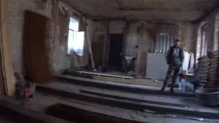 Поднимаем балки бетоном, подготовка пола к заливке
