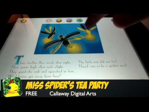 Miss Spider's Tea Party – iPad App Review (Education)