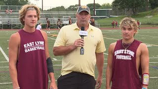 East Lyme football preview: Will Anglin and Rowan Mundell