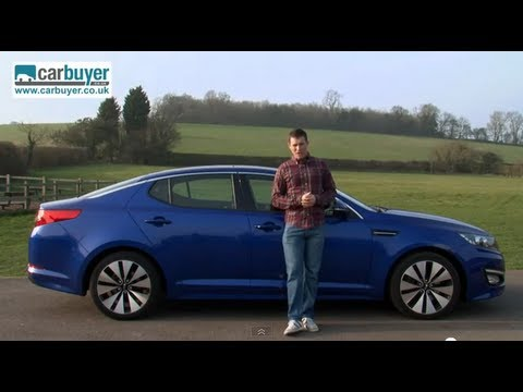 Kia Optima saloon review - CarBuyer