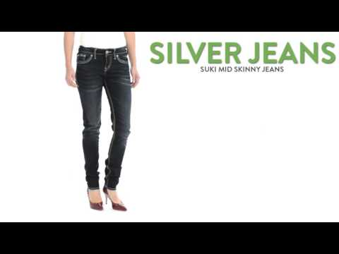 Silver Jeans Suki Mid Skinny Jeans (For Women)