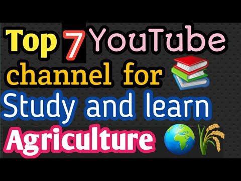 #Best YouTube channel for #Agriculture students of all classes