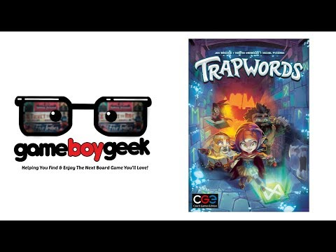 Trapwords Review with the Game Boy Geek