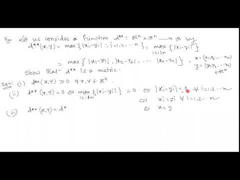 Metric Space    lecture 3   