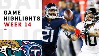 Jaguars vs. Titans Week 14 Highlights   NFL 2018