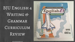 BJU Englsih 4 Writing & Grammar Curriculum Review