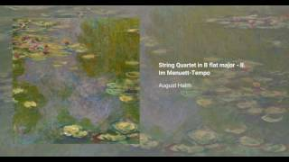 String Quartet in B flat major