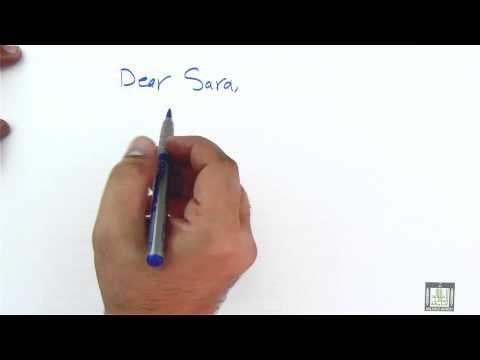 WRITING - Writing Letters Of Condolences Mp3