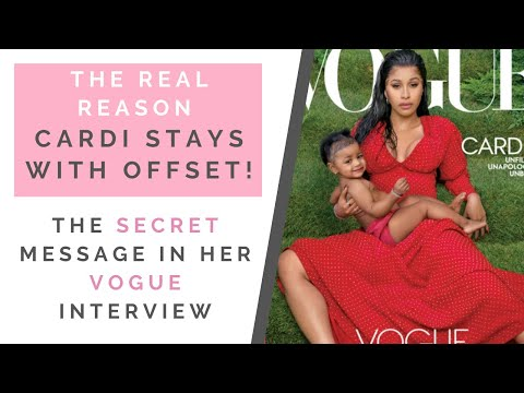 RED FLAGS FROM CARDI B'S VOGUE INTERVIEW: How Cardi Forgave Offset Cheating | Shallon Lester