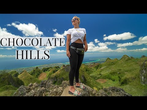 CHOCOLATE HILLS IN CEBU | BETTER VIEW THAN BOHOL PHILIPPINES?