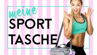 What's in my GYM-BAG?!? Fitness - Edition   Meine Gadgets   Sophia Thiel