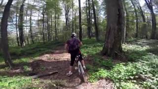 Mehadica-Poiana Rădcoasă-Nergănița Mare(Munții Semenic) cu bicicleta