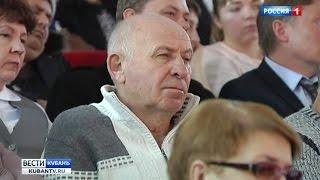В Белореченском районе Вениамин Кондратьев пообщался с местными жителями