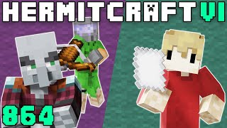 Hermitcraft VI 864 Demise Dare's & Pacified Pillagers!