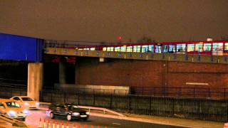 preview picture of video '4K: Poplar DLR Station, London -- Clip No. 3 -- [Panasonic Lumix DMC-LX100]'