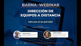 Dirección de equipos a distancia | Carlos Martí y Gisselle Brito