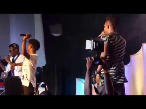 Korede Bello, Reekado Banks and Dr Sid Performs #Jantamanta On Stage